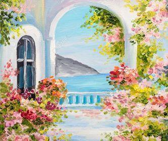 Paint and Sip Class - Greek Life (Sep 25)
