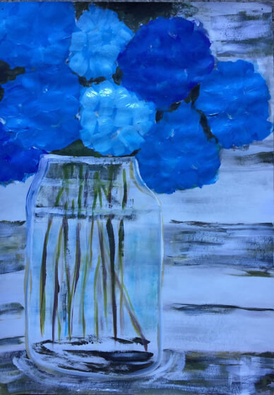 Paint and Sip Class: Hydrangeas