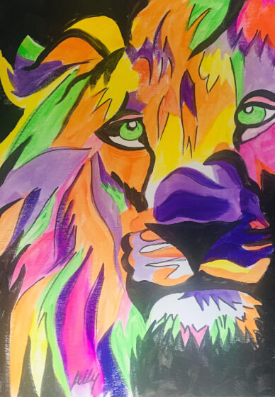 Paint and Sip Class: Lion