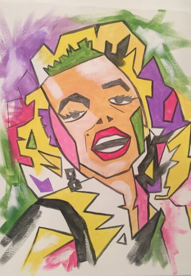 Paint and Sip Class: Marilyn