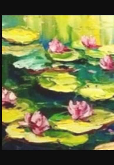 Paint and Sip Class - Monet Water Lillies (Nov 07)