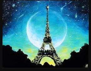 Paint and Sip Class - Moonlight Paris (Sep 29)