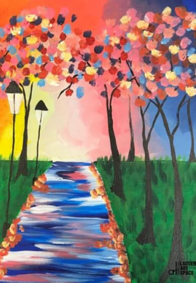 Paint and Sip Class: Morning Walk