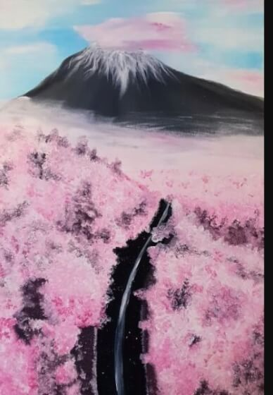 Paint and Sip Class - Mt Fuji (Jan 24)