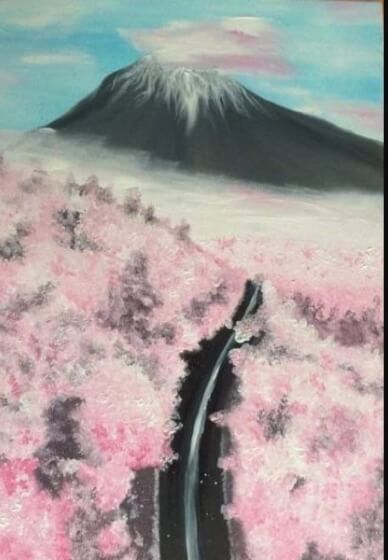 Paint and Sip Class - Mt Fuji (Oct 25)