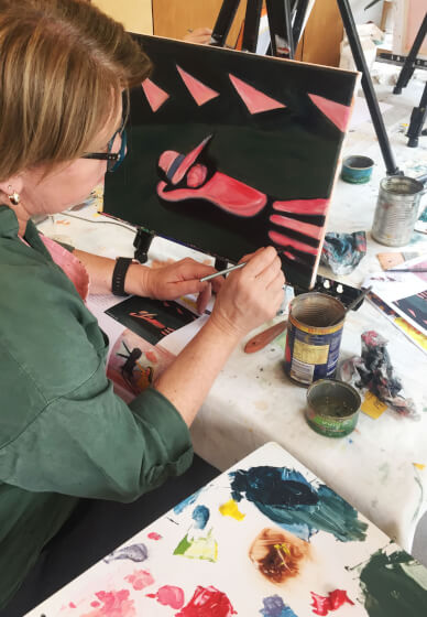 Paint and Sip Class: Oil Painting