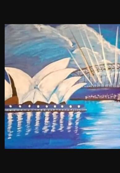 Paint and Sip Class - Opera House (Dec 28)
