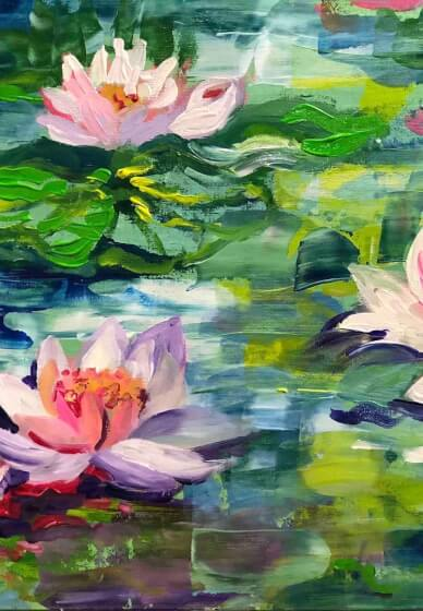 Paint and Sip Class: Paint Like Monet
