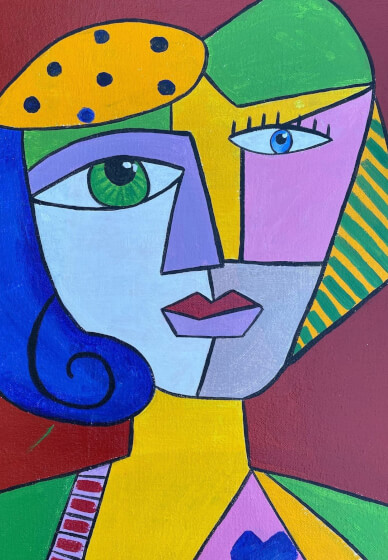 Paint and Sip Class: Paint Mum Like Picasso