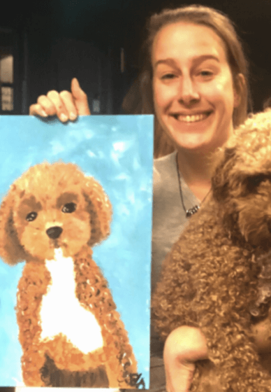 Paint and Sip Class: Paint Your Dog
