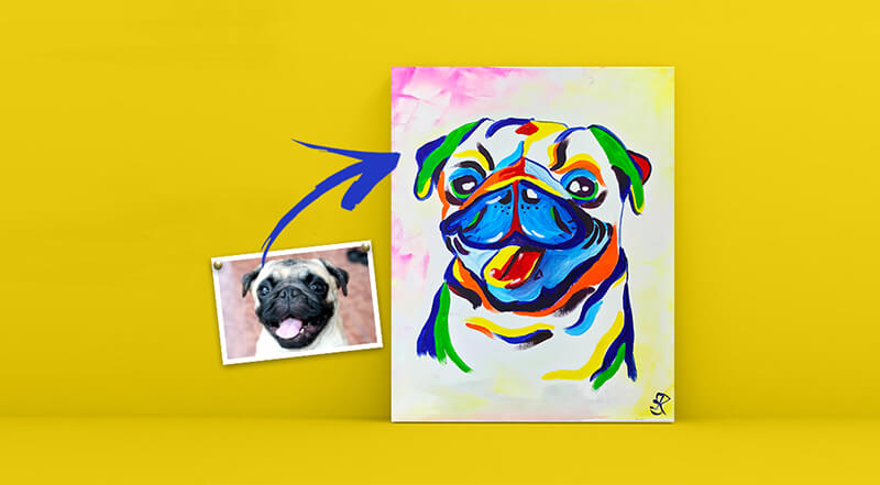 Paint and Sip Class - Paint Your Pet