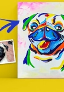 Paint and Sip Class - Paint Your Pet