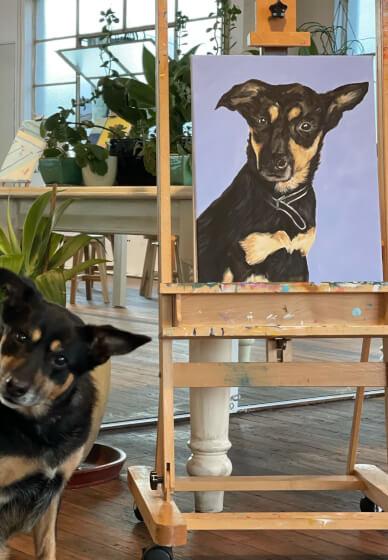 Paint and Sip Class: Paint Your Pet