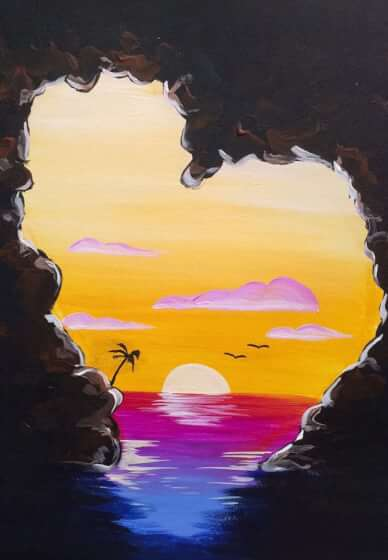 Paint and Sip Class: Paradise Cove