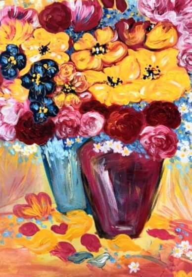 Paint and Sip Class - Pop of Colour (Dec 16)