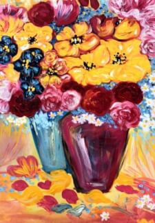 Paint and Sip Class - Pop of Colour (Dec 18)