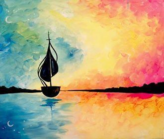 Paint and Sip Class - Sail Away (Aug 22)