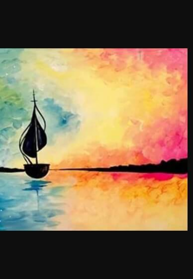 Paint and Sip Class - Sail Away (Nov 13)