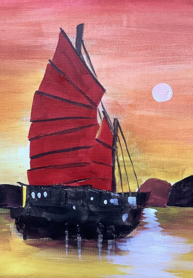 Paint and Sip Class: Sampan Sunset