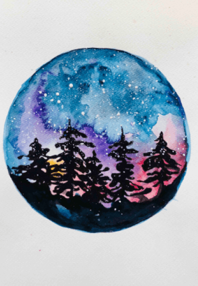 Paint and Sip Class: Starry Night