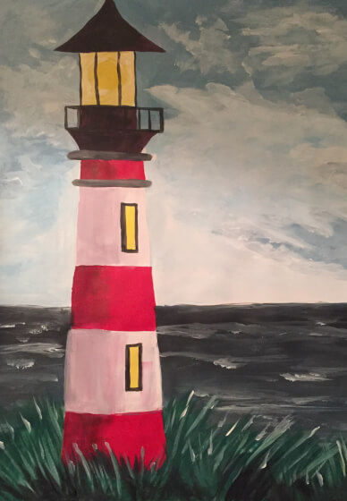 Paint and Sip Class: Storm Point