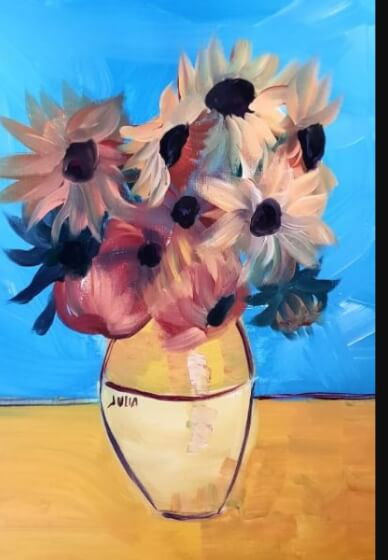 Paint and Sip Class - Sunflowers (Dec 15)