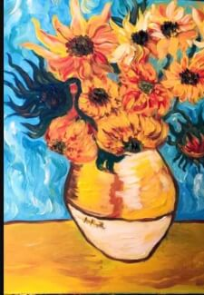 Paint and Sip Class - Sunflowers (Jan 2)
