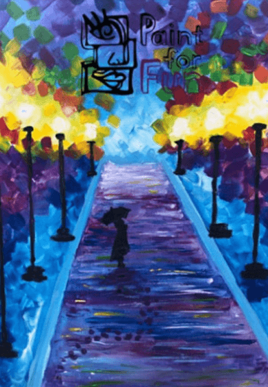 Paint and Sip Class: the Boulevard