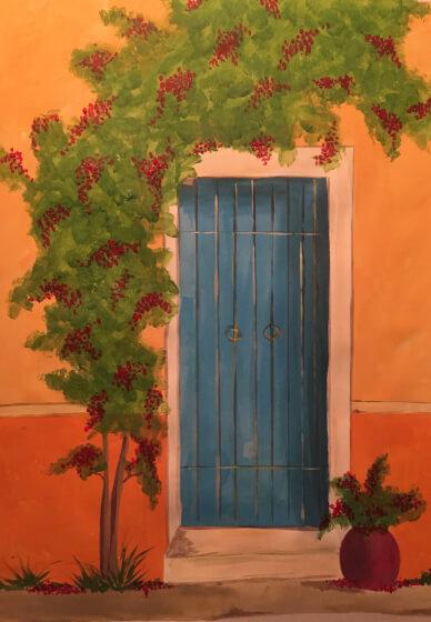Paint and Sip Class: Tuscan Door