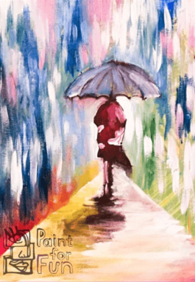 Paint and Sip Class: Umbrellas