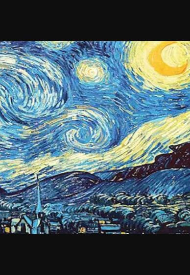 Paint and Sip Class - Van Gogh Starry Night (Nov 14)