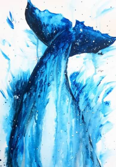 Paint and Sip Class - Whale of a Time (Mar 16)
