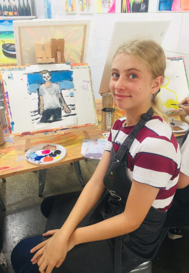 Painting Class for Kids