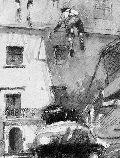 Painting Class: Graphite and Wash