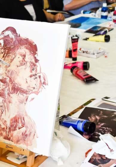 Palette Knife Painting Workshop