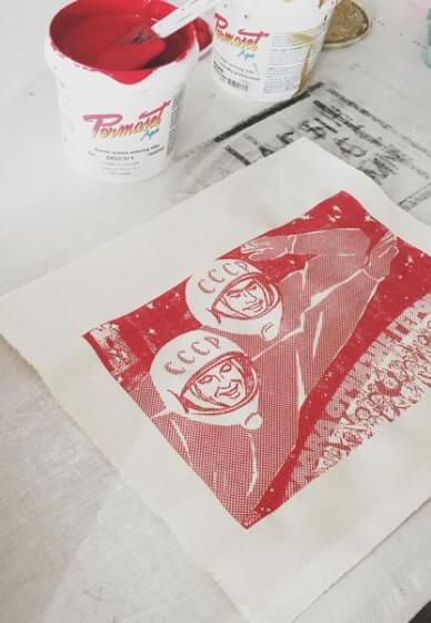 Photo Emulsion Screen Printing Class