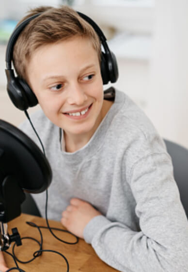 Podcasting for Kids (7+ Years)
