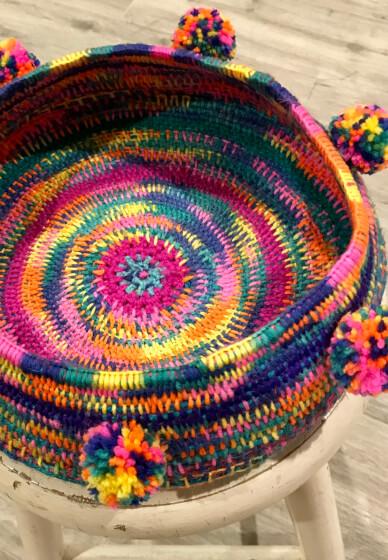 Pods and Jute Basket Weaving Workshop