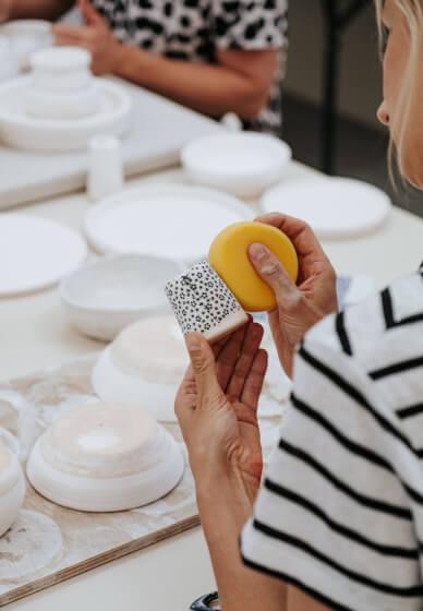 Pottery Glaze Class: Paint Your Pottery