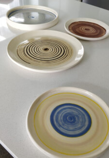 Pottery Wheel Class: Make and Paint Ceramic Plates