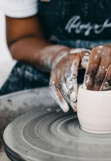 Pottery Wheel Throwing Class: Tumbler or Mug