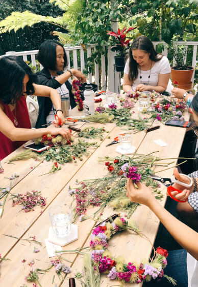 Private Flower Crown Workshop
