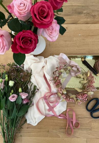 Private Flower Crown Workshop