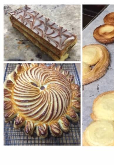 Puff Pastry Class