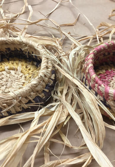 Raffia Basket Weaving Workshop