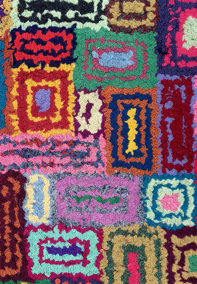 Rag Rug and Necklace Making Class: Commuter Craft