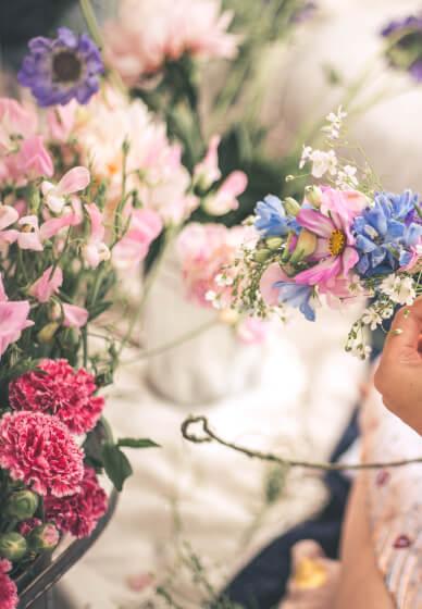 Romantic Flower Crown Workshop