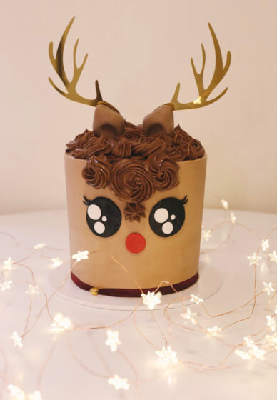Rudolph Cake Decorating Workshop