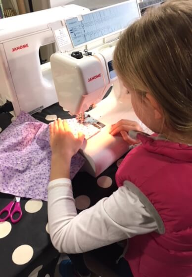 School Holidays Sewing Day Workshop (9-18 Years)