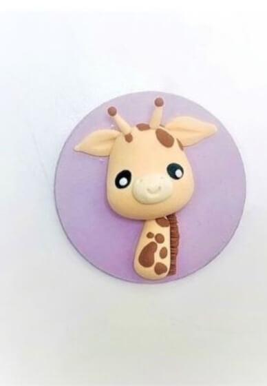 Sculpture Class for Kids: Giraffe Fridge Magnet